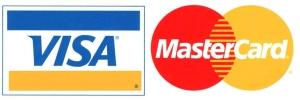 Мы принимаем Visa и Master Card